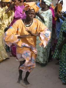 Dans bij een trouwerij