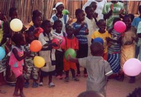 Een dansfeest voor kinderen