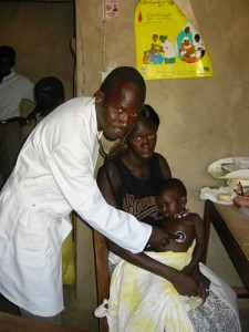 Gezondheidswerker in Macouda