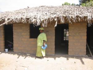 Haar huis werd afgemaakt en ze begon een handeltje