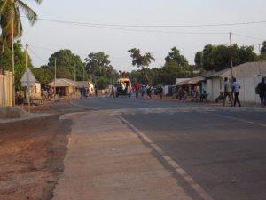 De hoofdstraat van Darsilami