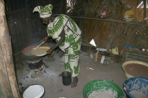 Traditionele keuken in Darsilami