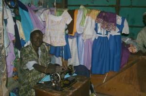 Een lokale klerenmaker