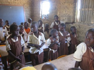 Kleuterschool in Manduar