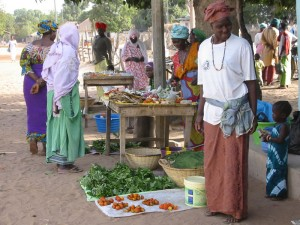 Elke ochtend markt in Darsilami