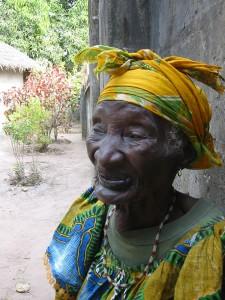 Oudste vrouw in Darsilami