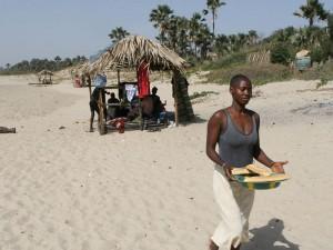 Picknick aan zee 2008
