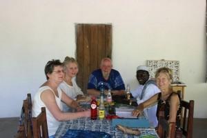 Vergaderen in Darsilami