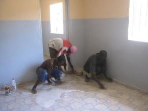 Bouw gezondheidscentrum Macouda
