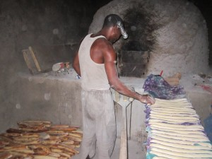 Het gaat goed met de bakkerij in Darsilami
