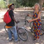 Op de fiets naar Macouda