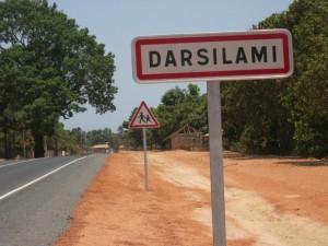 Verkeersbord Darsilami