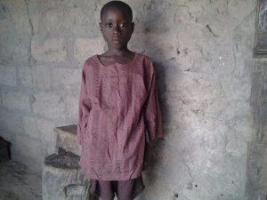 'Baby' Lamin is nu 9 jaar