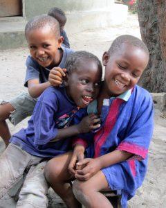 Jongetjes in Darsilami