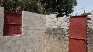 Muren opgetrokken